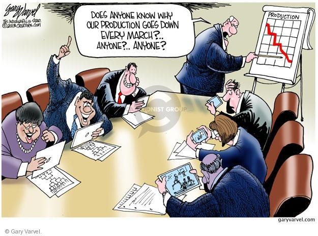 Cartoonist Gary Varvel  Gary Varvel's Editorial Cartoons 2013-03-29 meeting