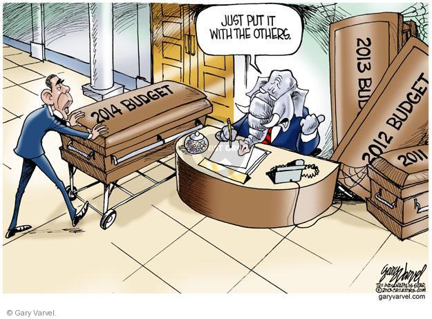Gary Varvel  Gary Varvel's Editorial Cartoons 2013-04-12 GOP