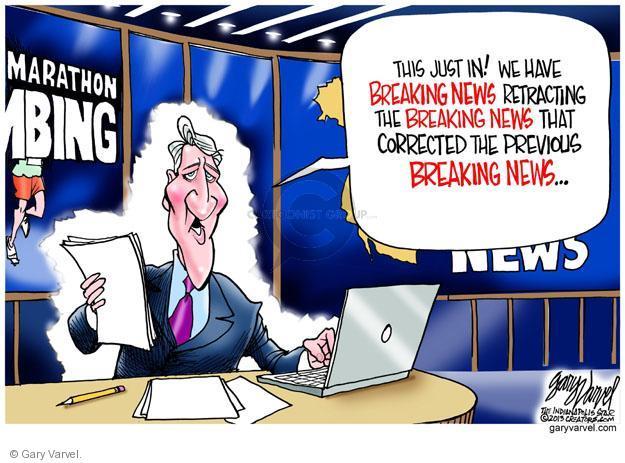 Gary Varvel  Gary Varvel's Editorial Cartoons 2013-04-19 media credibility