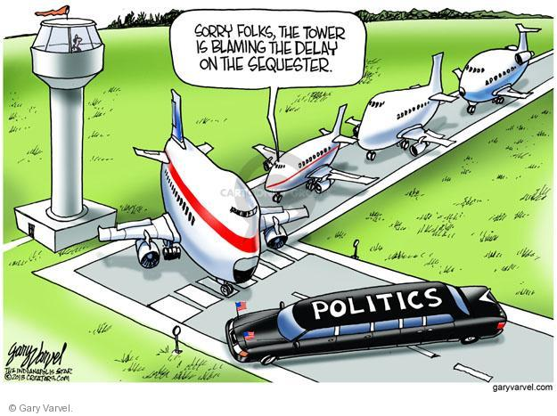 Cartoonist Gary Varvel  Gary Varvel's Editorial Cartoons 2013-04-25 airplane