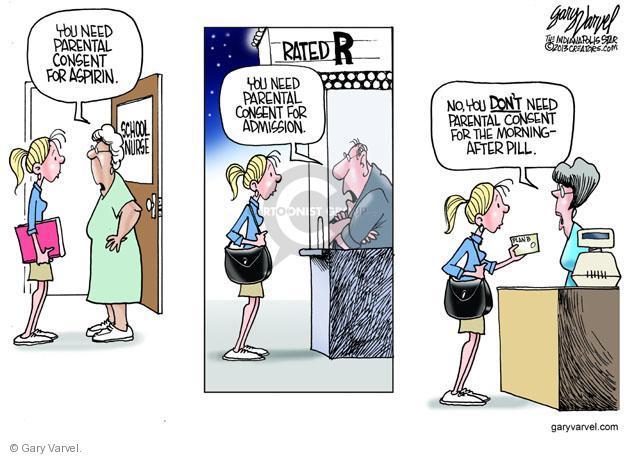 Gary Varvel  Gary Varvel's Editorial Cartoons 2013-05-08 nurse