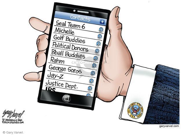 Cartoonist Gary Varvel  Gary Varvel's Editorial Cartoons 2013-05-16 seal