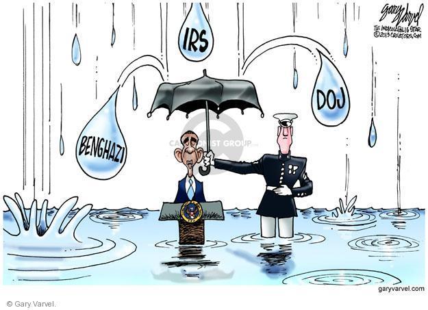 Cartoonist Gary Varvel  Gary Varvel's Editorial Cartoons 2013-05-19 American president
