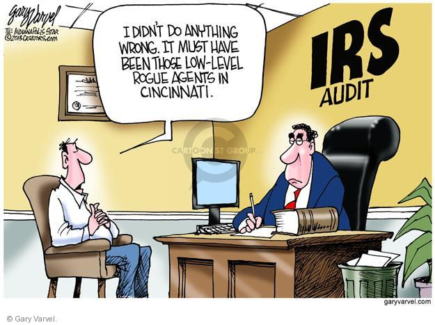 Cartoonist Gary Varvel  Gary Varvel's Editorial Cartoons 2013-05-23 agent