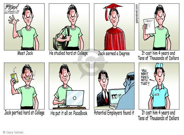 Cartoonist Gary Varvel  Gary Varvel's Editorial Cartoons 2013-06-13 education