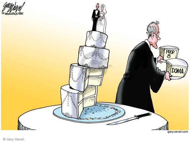 Cartoonist Gary Varvel  Gary Varvel's Editorial Cartoons 2013-06-27 marriage