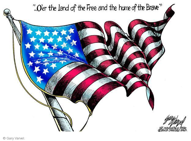Cartoonist Gary Varvel  Gary Varvel's Editorial Cartoons 2013-07-04 independence