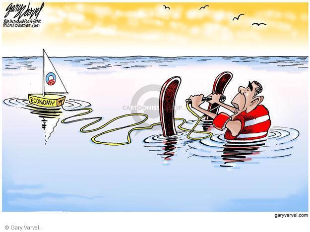 Cartoonist Gary Varvel  Gary Varvel's Editorial Cartoons 2013-08-01 recession