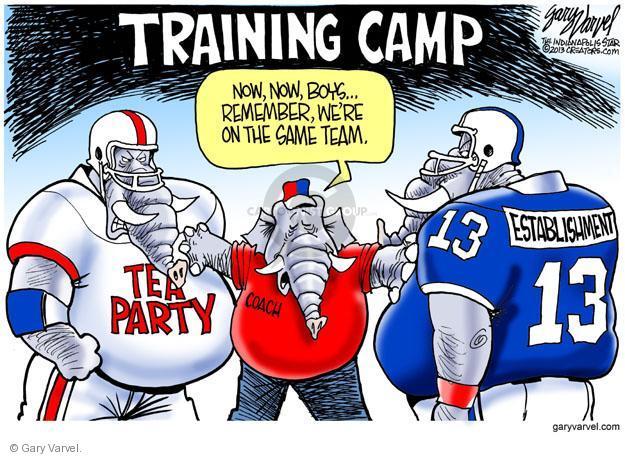 Cartoonist Gary Varvel  Gary Varvel's Editorial Cartoons 2013-08-05 infighting