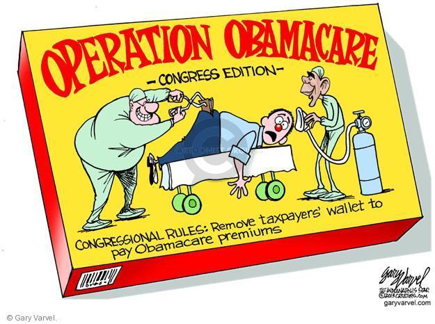 Cartoonist Gary Varvel  Gary Varvel's Editorial Cartoons 2013-08-09 congress health care