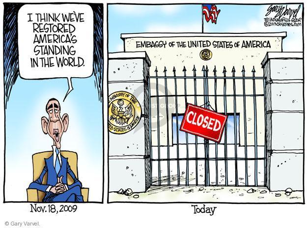 Cartoonist Gary Varvel  Gary Varvel's Editorial Cartoons 2013-08-12 Obama terrorism