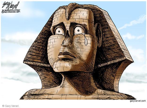 Gary Varvel  Gary Varvel's Editorial Cartoons 2013-08-15 Egyptian revolution