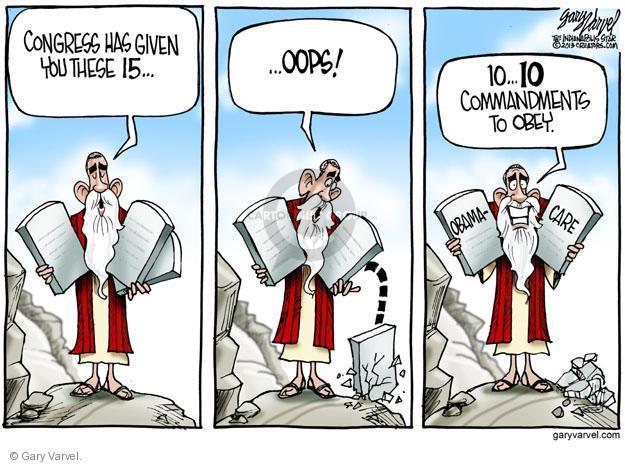 Cartoonist Gary Varvel  Gary Varvel's Editorial Cartoons 2013-08-18 congress health care