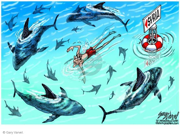 Cartoonist Gary Varvel  Gary Varvel's Editorial Cartoons 2013-09-04 American president