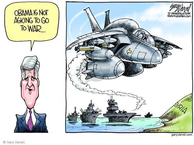 Cartoonist Gary Varvel  Gary Varvel's Editorial Cartoons 2013-09-05 American president