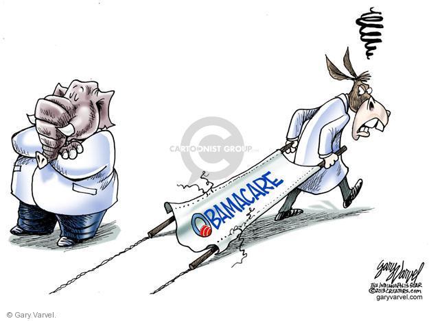 Cartoonist Gary Varvel  Gary Varvel's Editorial Cartoons 2013-09-24 congress health care