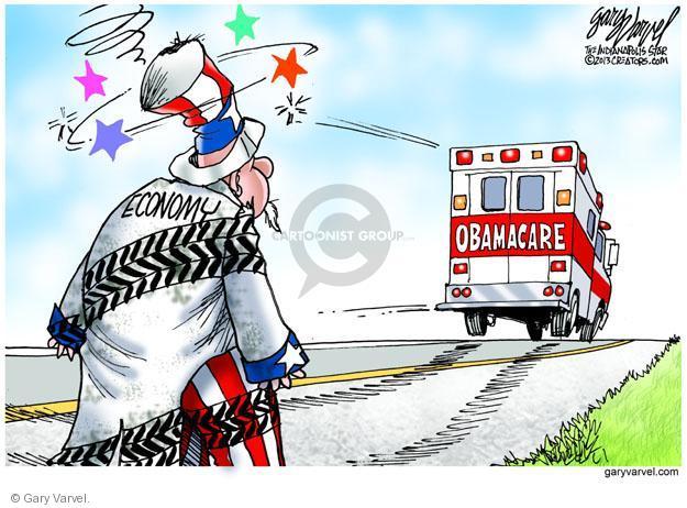 Cartoonist Gary Varvel  Gary Varvel's Editorial Cartoons 2013-09-29 economy