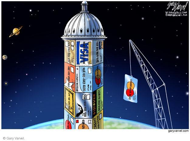 Cartoonist Gary Varvel  Gary Varvel's Editorial Cartoons 2013-10-01 capitol building