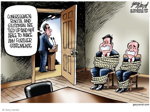 Cartoonist Gary Varvel  Gary Varvel's Editorial Cartoons 2013-10-04 congressman