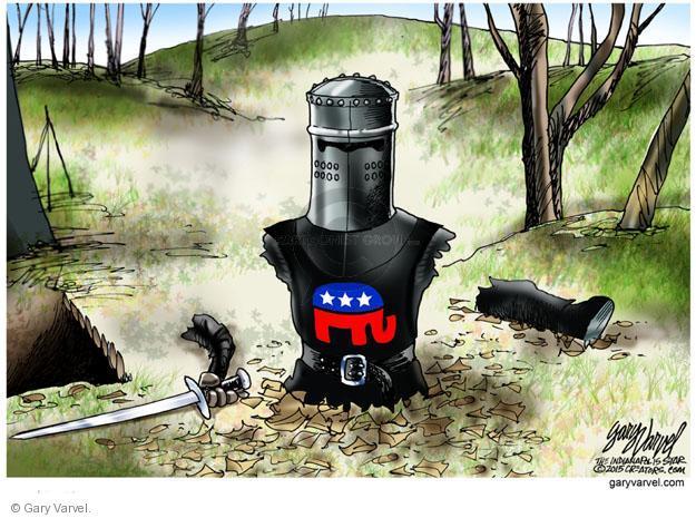 Cartoonist Gary Varvel  Gary Varvel's Editorial Cartoons 2013-10-17 infighting