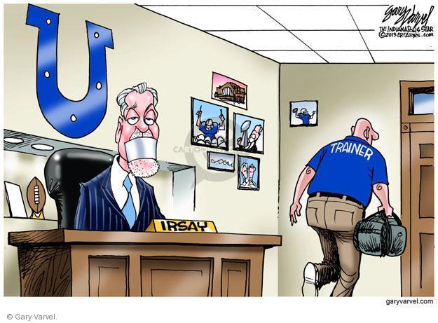 Cartoonist Gary Varvel  Gary Varvel's Editorial Cartoons 2013-10-18 owner