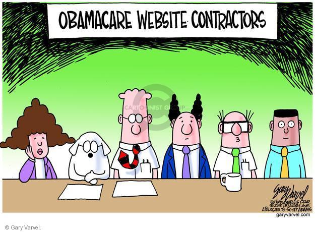 Cartoonist Gary Varvel  Gary Varvel's Editorial Cartoons 2013-10-25 health