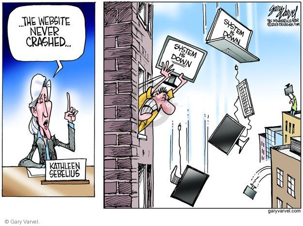 Gary Varvel  Gary Varvel's Editorial Cartoons 2013-10-31 policy