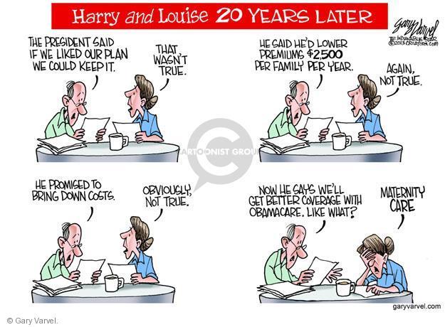 Cartoonist Gary Varvel  Gary Varvel's Editorial Cartoons 2013-11-03 family