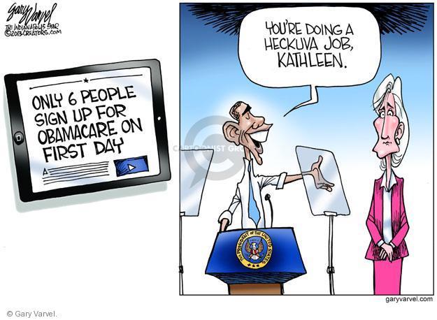 Cartoonist Gary Varvel  Gary Varvel's Editorial Cartoons 2013-11-04 health