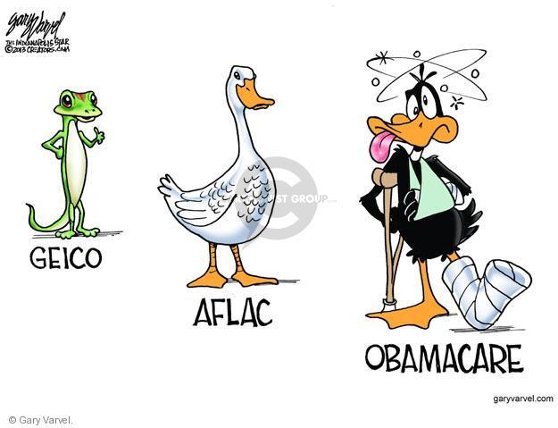 Cartoonist Gary Varvel  Gary Varvel's Editorial Cartoons 2013-11-07 health