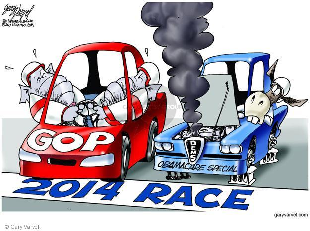 Gary Varvel  Gary Varvel's Editorial Cartoons 2013-11-08 2014 Obamacare