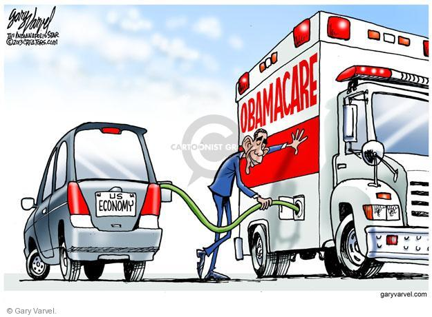 US Economy. Obamacare.