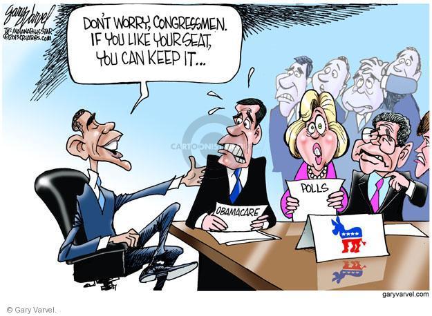 Cartoonist Gary Varvel  Gary Varvel's Editorial Cartoons 2013-11-29 Congress