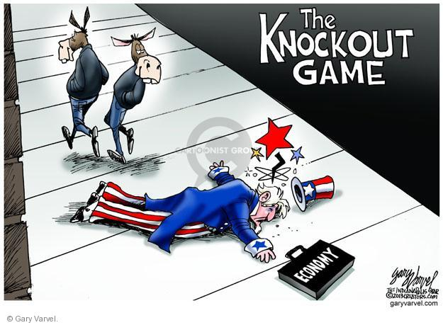 Cartoonist Gary Varvel  Gary Varvel's Editorial Cartoons 2013-12-02 attack
