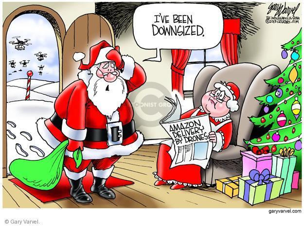 Gary Varvel  Gary Varvel's Editorial Cartoons 2013-12-04 pole