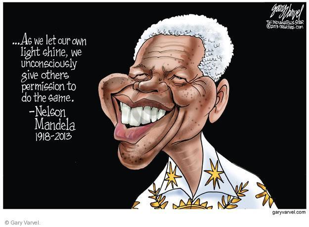 Cartoonist Gary Varvel  Gary Varvel's Editorial Cartoons 2013-12-06 light