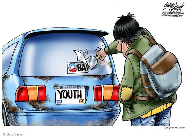 Obama. Youth.