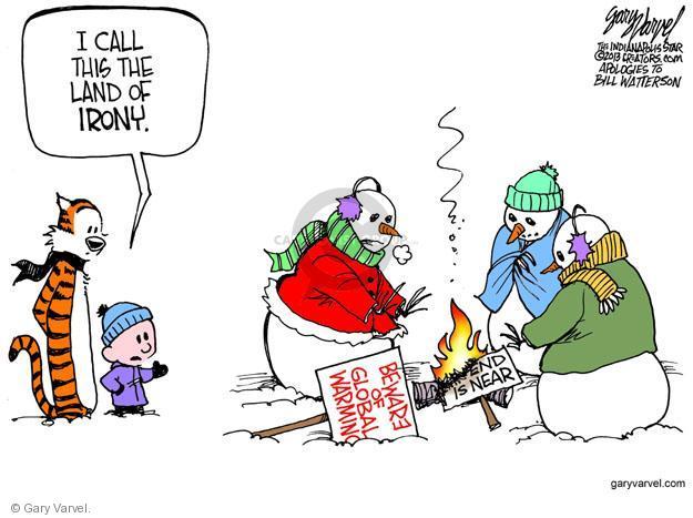 Cartoonist Gary Varvel  Gary Varvel's Editorial Cartoons 2013-12-10 land
