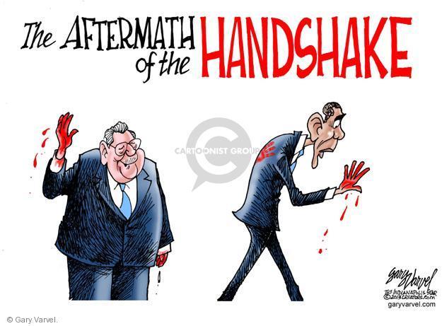 Cartoonist Gary Varvel  Gary Varvel's Editorial Cartoons 2013-12-12 American president