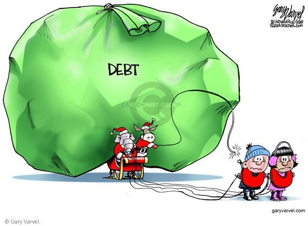 Gary Varvel  Gary Varvel's Editorial Cartoons 2013-12-15 budget deficit