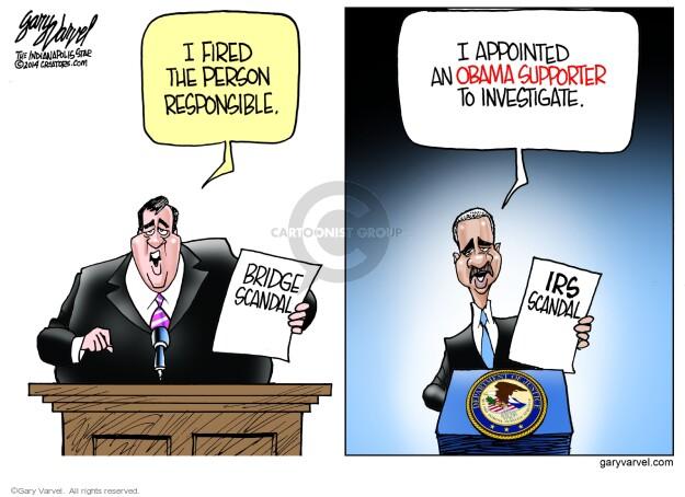 Cartoonist Gary Varvel  Gary Varvel's Editorial Cartoons 2014-01-12 investigation