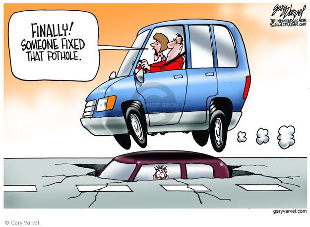 Gary Varvel  Gary Varvel's Editorial Cartoons 2014-01-15 infrastructure