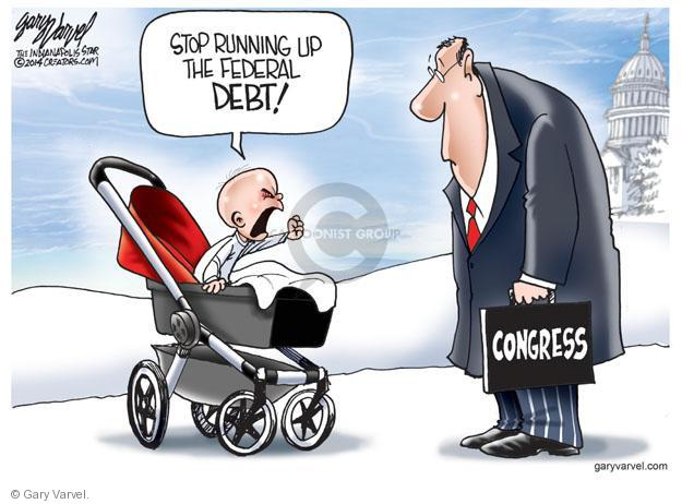 Gary Varvel  Gary Varvel's Editorial Cartoons 2014-01-20 federal budget