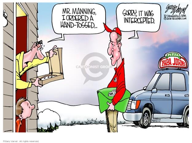 Cartoonist Gary Varvel  Gary Varvel's Editorial Cartoons 2014-02-04 order