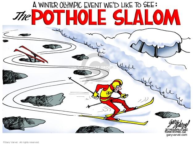 Gary Varvel  Gary Varvel's Editorial Cartoons 2014-02-11 winter