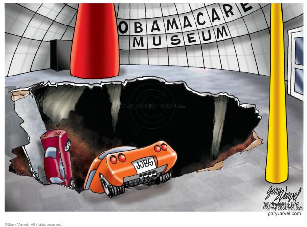 Cartoonist Gary Varvel  Gary Varvel's Editorial Cartoons 2014-02-14 industry