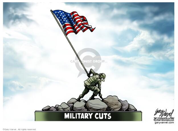 Cartoonist Gary Varvel  Gary Varvel's Editorial Cartoons 2014-02-26 back