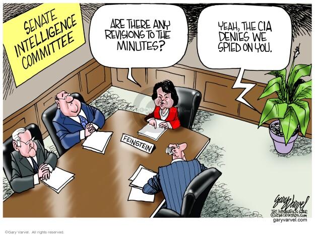 Cartoonist Gary Varvel  Gary Varvel's Editorial Cartoons 2014-03-16 intelligence