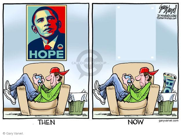 Cartoonist Gary Varvel  Gary Varvel's Editorial Cartoons 2014-03-17 hope