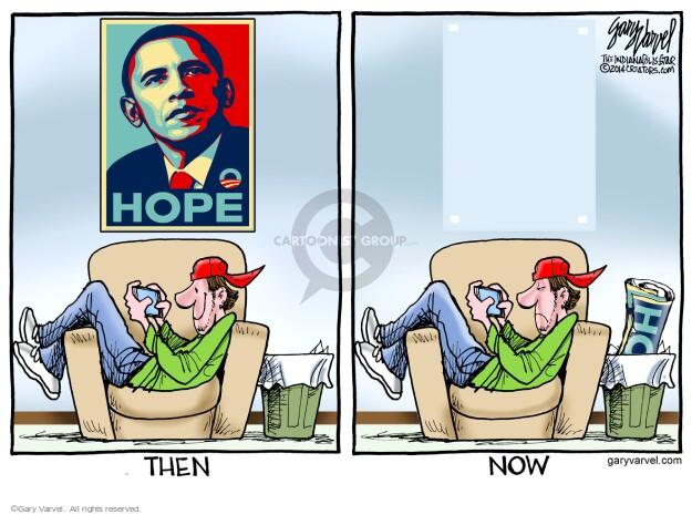 Cartoonist Gary Varvel  Gary Varvel's Editorial Cartoons 2014-03-17 2008